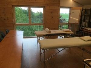 Schulungsräume der Heilpraktikerschule in Bedernau im bayrischen Allgäu